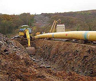 В 2019 г. завершится строительство газопровода в Цзилине