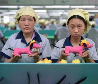 Легкая промышленность обеспечивает четверть экспорта КНР