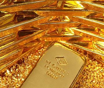 Сократилось производство золота в Китае