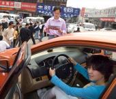 В Поднебесной продается все больше автомобилей