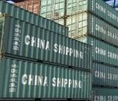 Вырос индекс экспортных контейнерных перевозок Китая