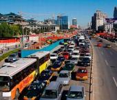 В Китае сократились продажи легковых автомобилей