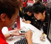 Поставки мобильных телефонов в КНР увеличились на 1,2%