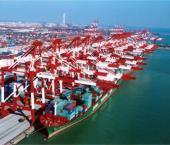 Грузооборот китайских портов увеличился на 6,4%
