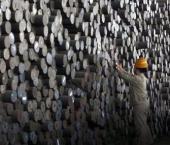 В Поднебесной выросло производство стали
