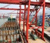 Увеличился грузовой и контейнерный оборот китайских портов