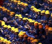 К концу 2010 г. имеют работу 790 млн китайцев