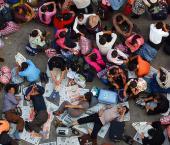 Население Китая увеличилось на 73,9 млн человек