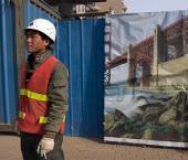 """Китайские строители """"рвутся в бой"""""""